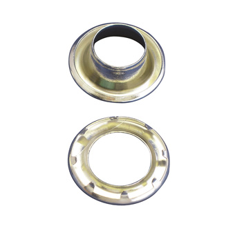 Contender No 6 Nickel Plated Grommets - 50 Pack