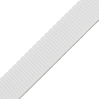 Polypropylene Webbing White 19mm