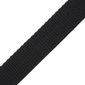 Polypropylene Webbing Black 25mm