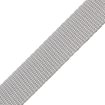 Polypropylene Webbing Grey 19mm
