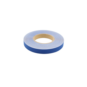 Slit Polyester Insignia Tape Blue 3/4