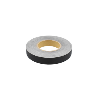 Slit Polyester Insignia Tape Black 1