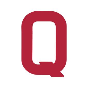 12 Inch | 308mm Polyester Insignia Red Sail Letter - Q