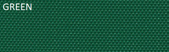 6oz/7oz Nylon Bag Cloth Anti Fray PU Coated 150cm Green