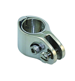 Cast Stainless Steel 30mm Hinged Tube Clamp