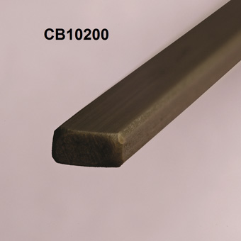 RBS 10mm Carbon Leech Batten x 1250mm x CB10200
