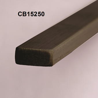 RBS 15mm Carbon Leech Batten x 1500mm x CB15250