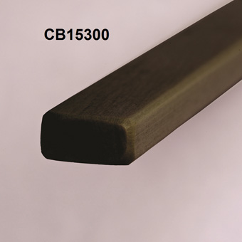 RBS 15mm Carbon Compression Batten x 3300mm x CB15300