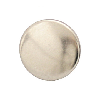 Durable DOT Nickel Plated 6.1mm Shaft Cap 100 Pack