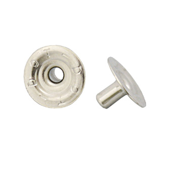 Durable DOT Nickel Plated 7.5mm Shaft Eyelet 100 Pack