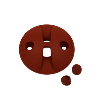 Stayput Saddle Dome Hook Terracotta